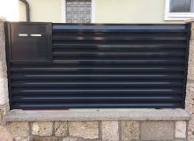 Aluminijumske ograde Plise Sigma 16