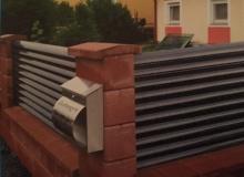 Aluminijumske ograde Panelne 1