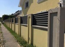 Aluminijumske ograde Panelne 2